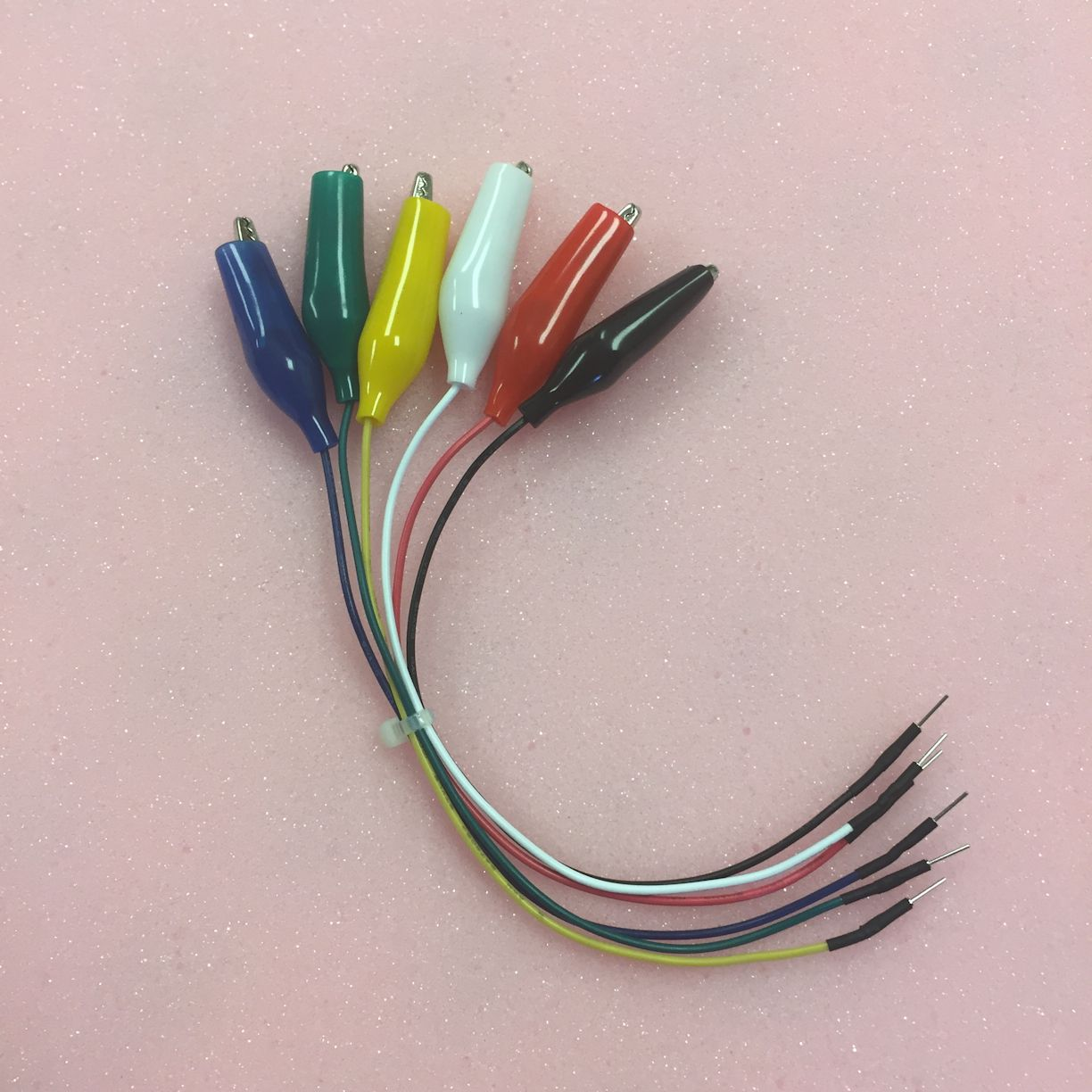 Twin Industries Wire Kits Accessories Wiring Jumper Wires With Alligator Clips Male Machine Pins